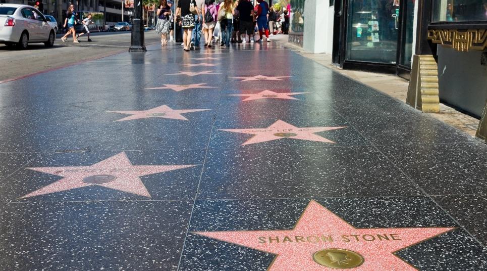 Calçada da Fama (Foto: shutterstock.com)