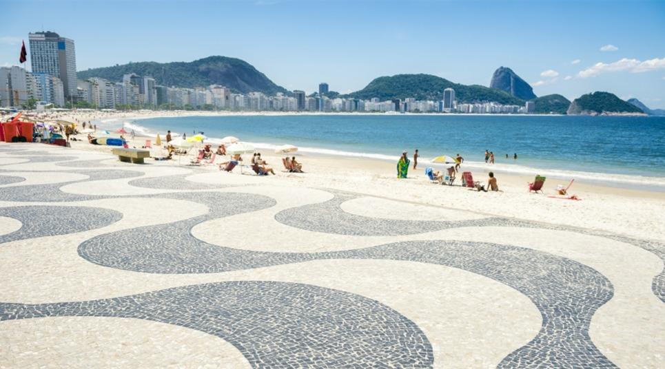 Praia de Copacabana (Foto: Alexandre Macieira/ Riotur)