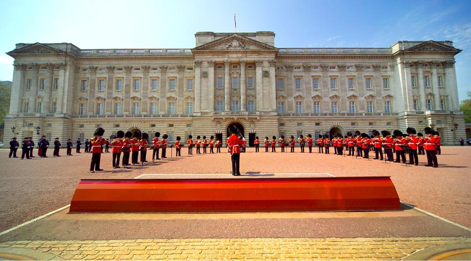 Palácio de Buckingham (Foto: shutterstock.com)
