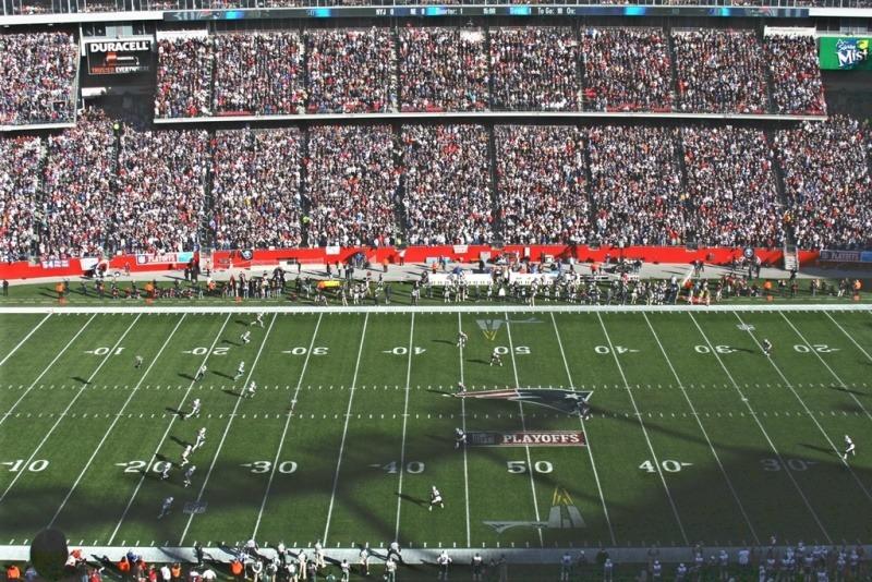 Gilette Stadium, casa dos Patriots (Foto: shutterstock.com)
