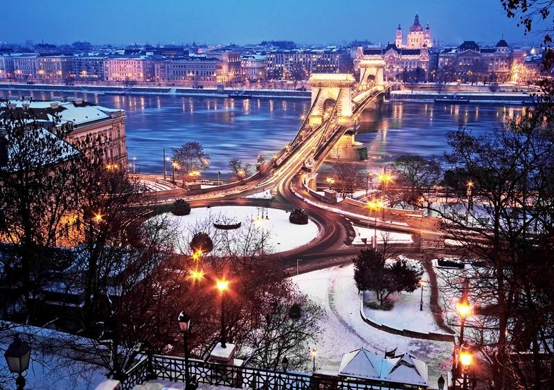 Budapeste à noite (Foto: shutterstock.com)