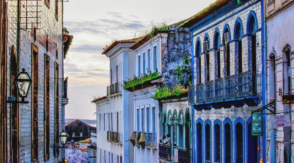 Casarões do Centro Histórico (Foto: Rafael Neddermeyer)