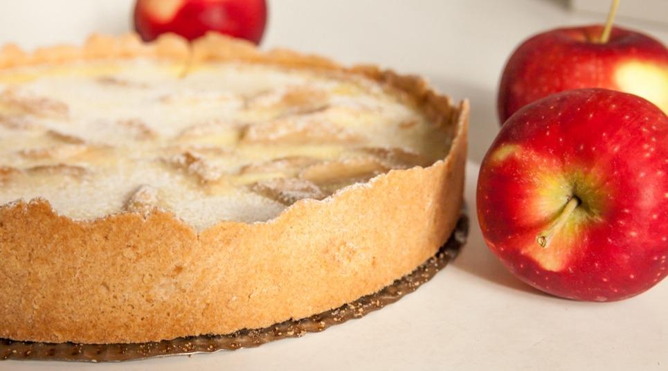 Torta de maçã típica da Alsácia (Foto: shutterstock.com)