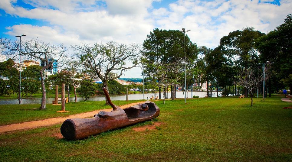 Lago do Taboão (Foto: Sérgio Luiz Jorge)