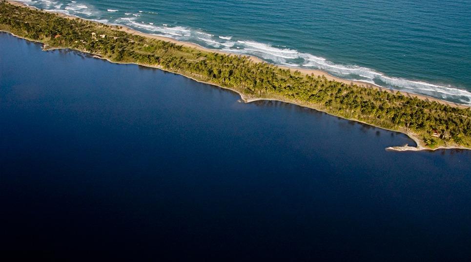 Lagoa Cassange (Foto: divulgação)