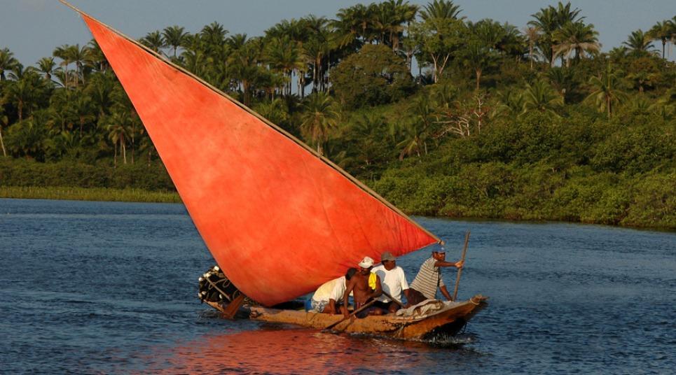 Pescadores em Maraú (Foto: Divulgação)