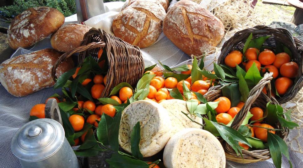 Tangerinas e queijos (Foto: divulgação)