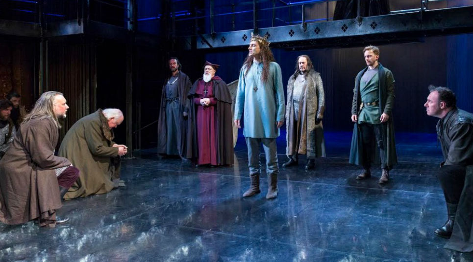 Espetáculo King and Country: Shakespeare's Great Cycle of Kings no BAM (Foto: Richard Termine)