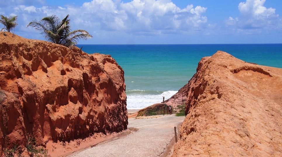 Falésias da Praia do Gunga (Foto: shutterstock.com)