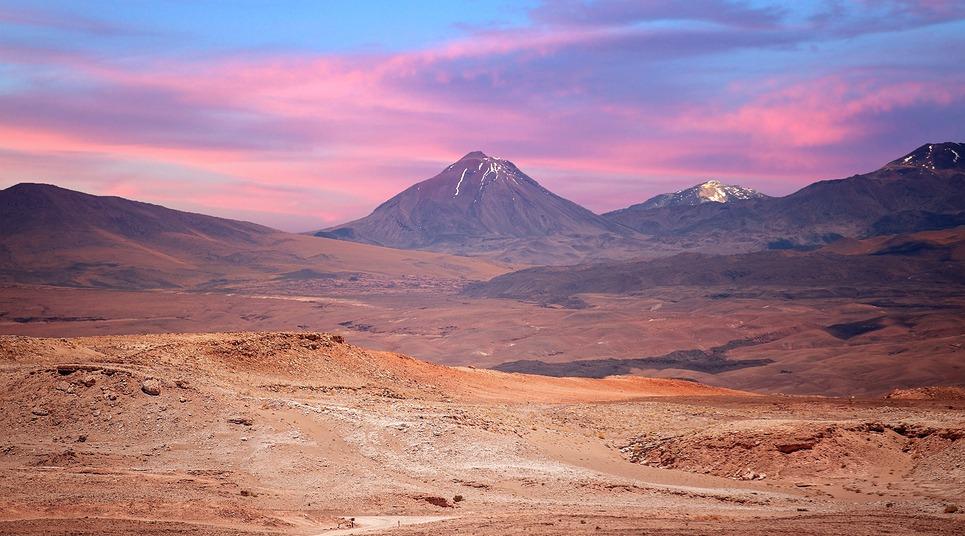 Deserto do Atacama (Foto: shutterstock.com)