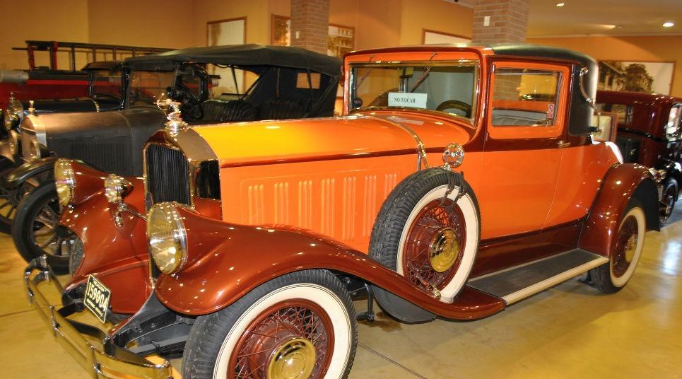 Museu do Automóvel (Foto: divulgação)