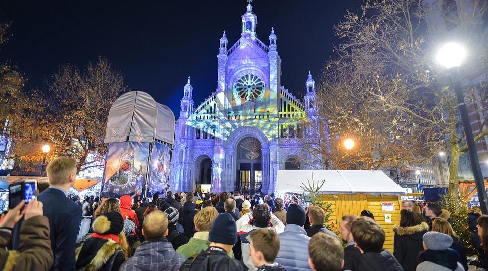 Luzes em Bruxelas (Foto: shutterstock.com)