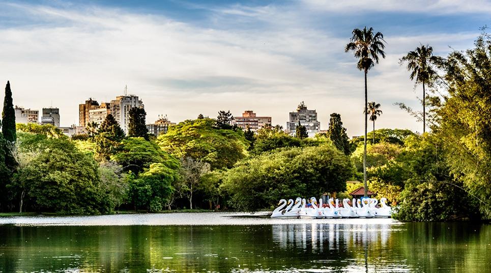 Parque Farroupilha (Foto: divulgação)