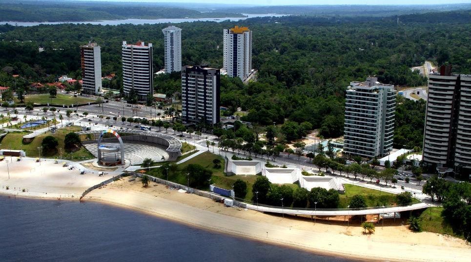 Praia da Ponta Negra (Foto: Prefeitura de Manaus)