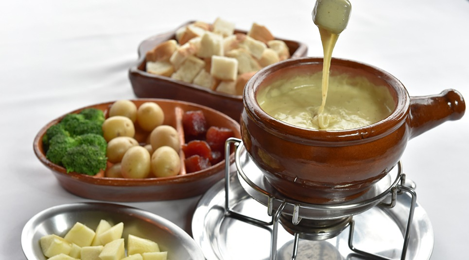 Fondue do Restaurante Colosseo