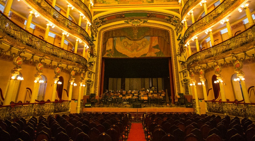 Área interna do Teatro Amazonas (Foto: Embratur)