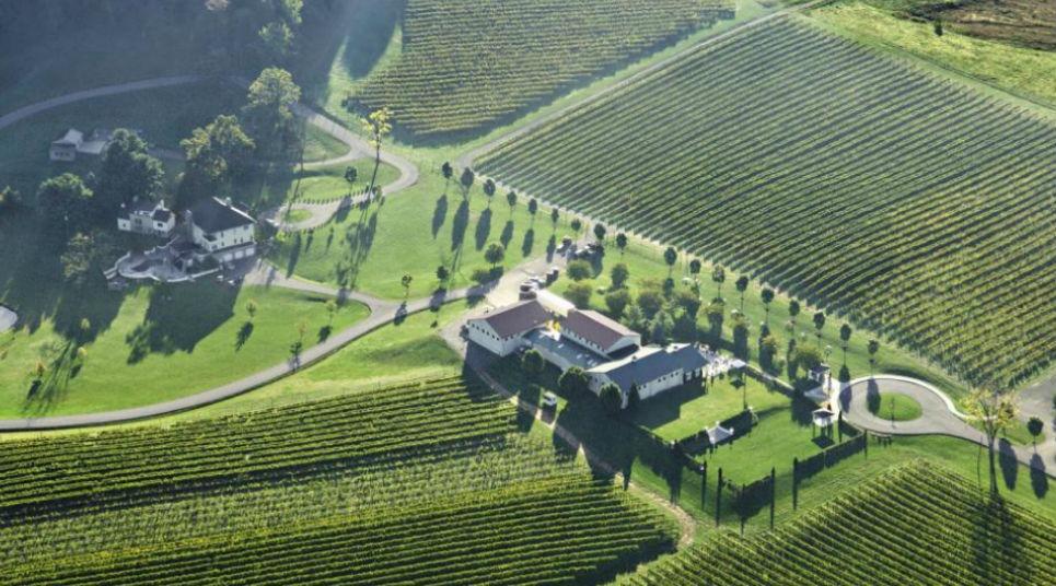 Vinícola Breaux em Loundoun County (Foto: divulgação)