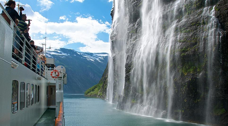 As cachoeiras de Geiranger