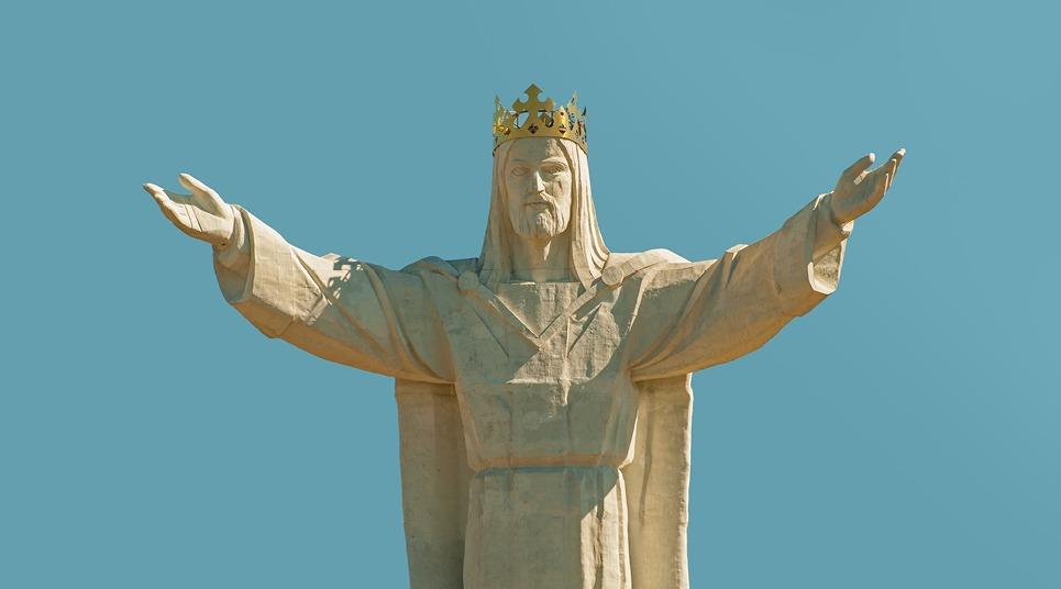 Estátua do Cristo Rei na Polônia