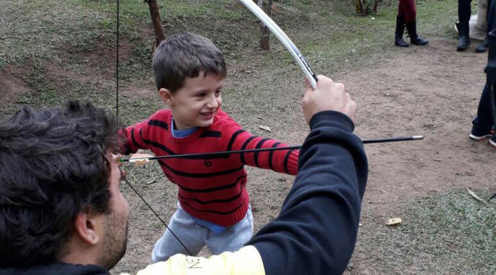 As crianças se divertem no SPAventura Ecolodge
