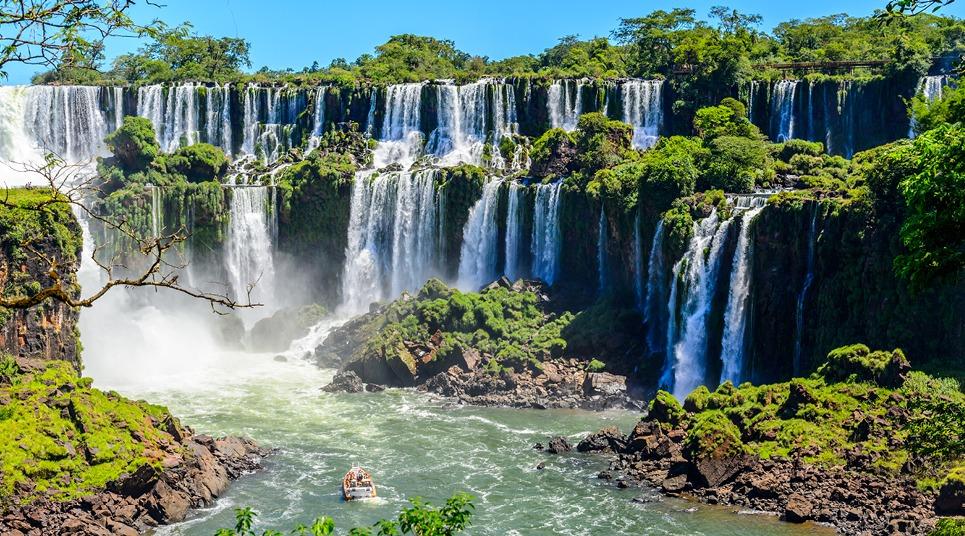 Cataratas em Foz do Iguaçu