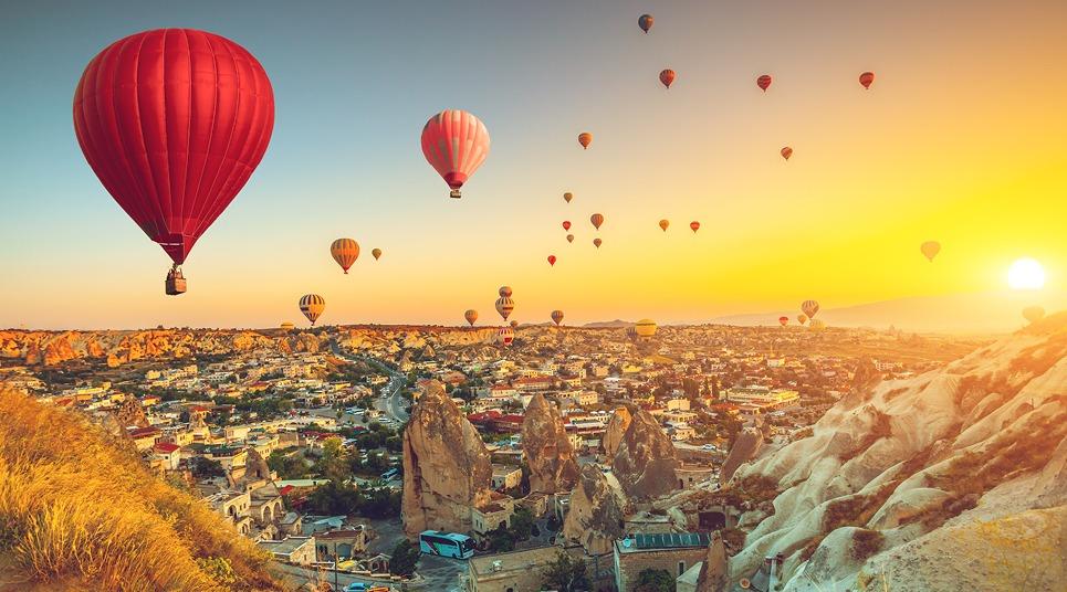 A Turquia é o destino clássico para quem quer viver a experiência (foto: shutterstock)
