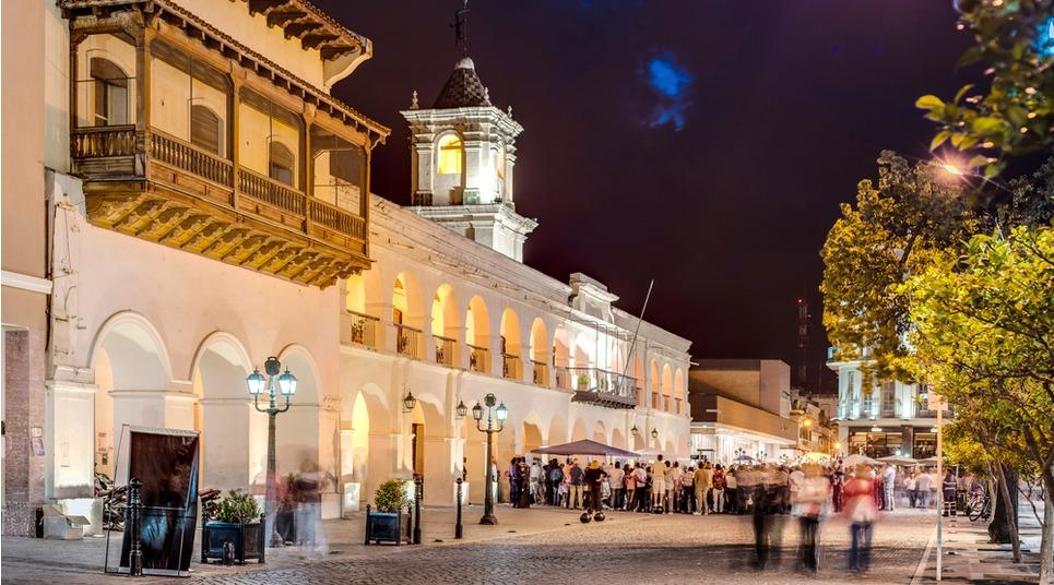Em segundo lugar, Salta. A cidade se destaca, acima de tudo, pela arquitetura (foto: shutterstock)