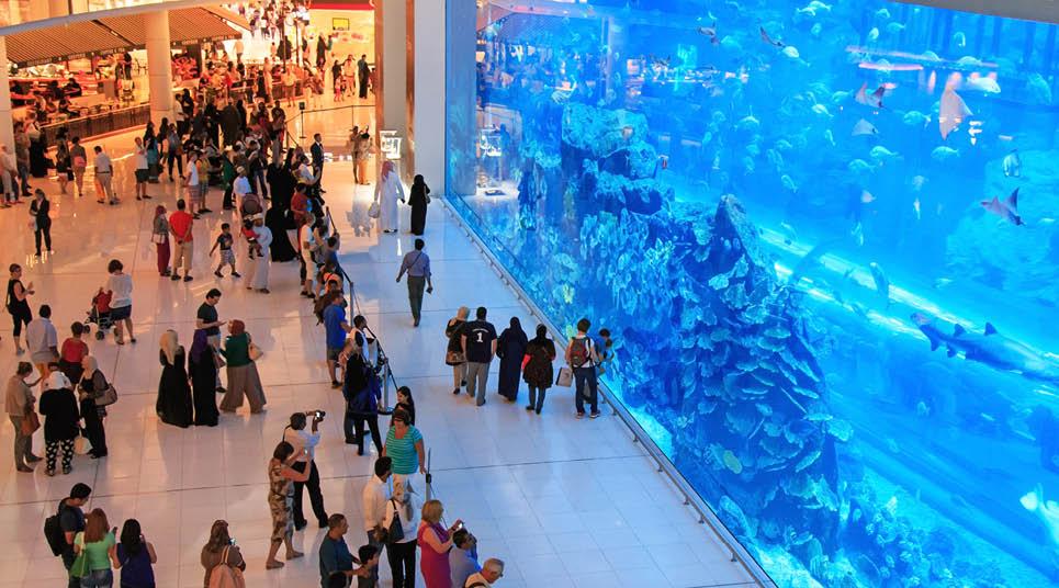 Aquário no Dubai Mall