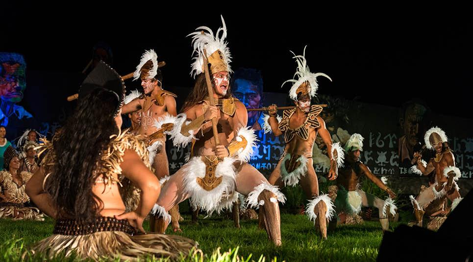 Dança Tapati Festival