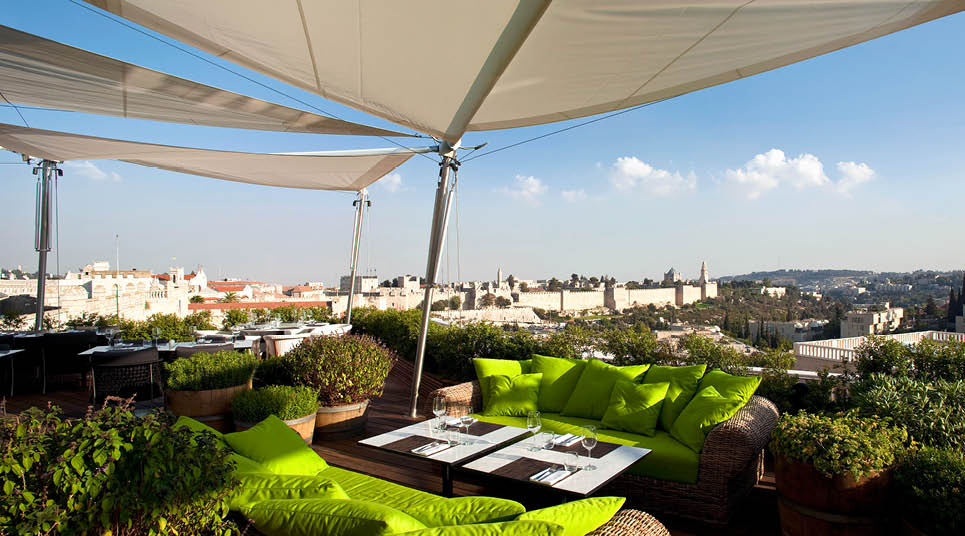 The Roof Top, Hotel Mamila