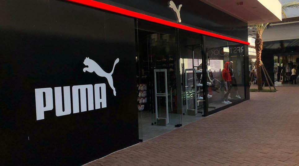 Nova loja Puma