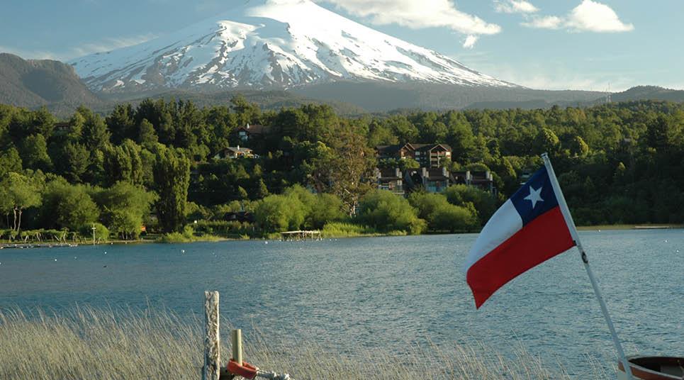 Praia do Lago Villarrica