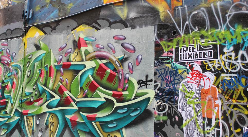 viela grafitada