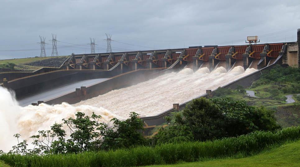 Usina de Itaipu, em Foz do Iguaçu