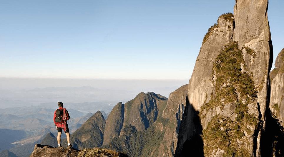 O Parque Nacional Serra dos Órgãos (RJ) é ideal para praticar esportes (foto: divulgação)