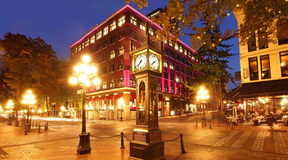 Gastown e seu relógio histórico