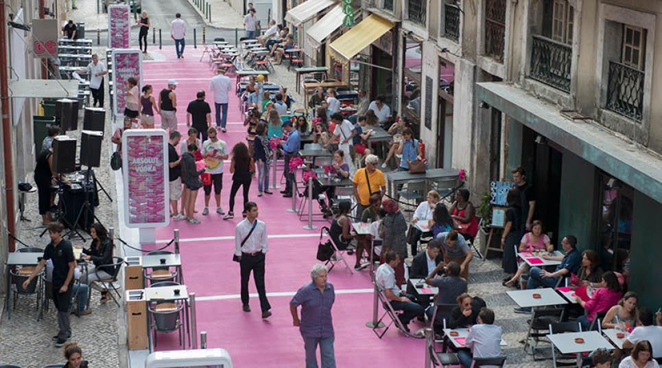 Rua Cor-de-Rosa