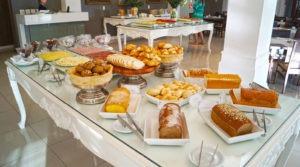As três refeições estão inclusas nas diárias