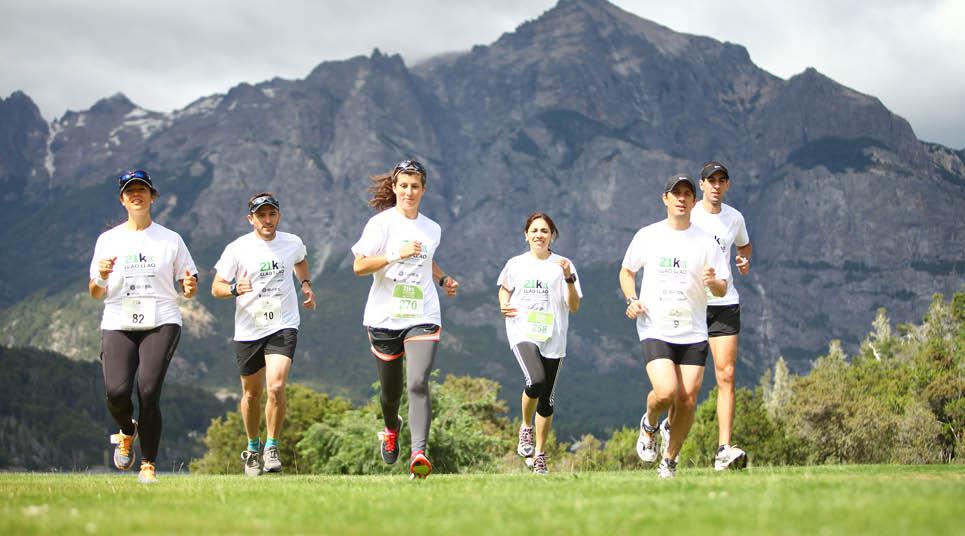 Maratona em Bariloche