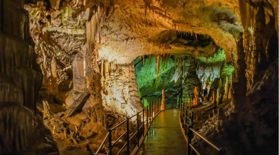 Caverna em Postojna