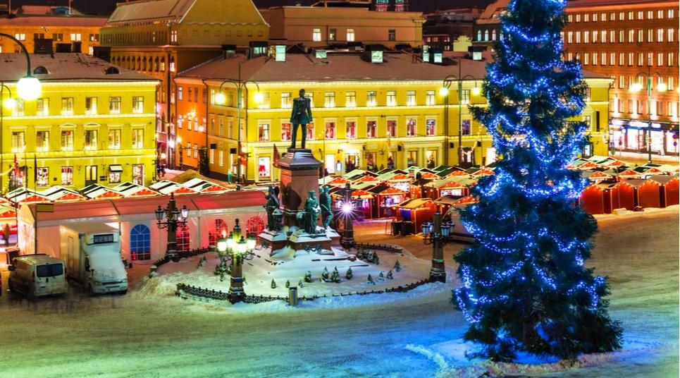 Natal em Tomasmarknaden