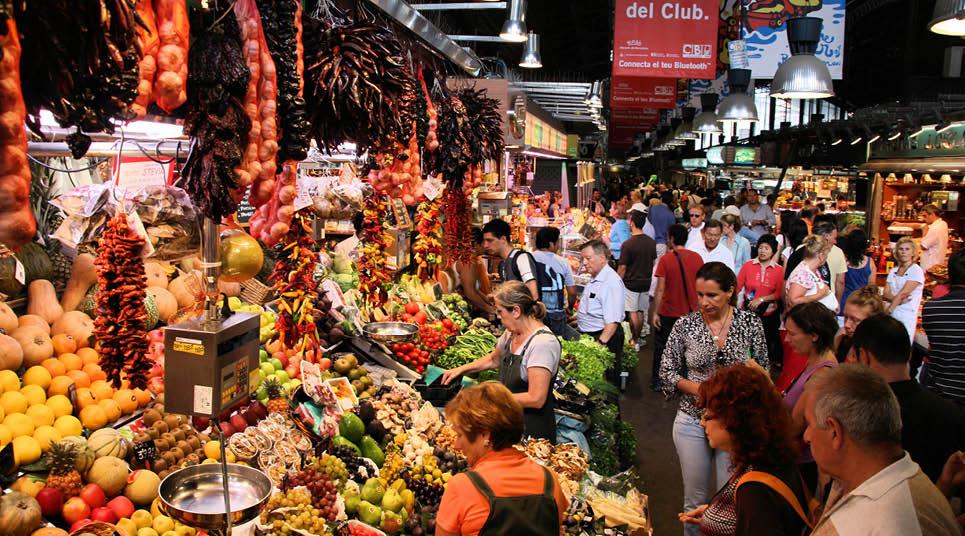 Mercado de la Boquería (foto: shutterstock)