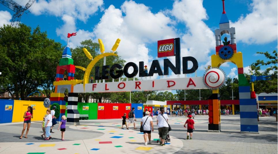Entrada do Legoland