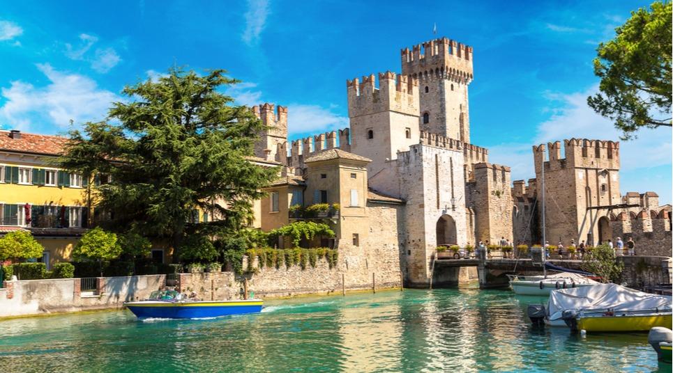 Castelo Scaligero, Lago di Garda