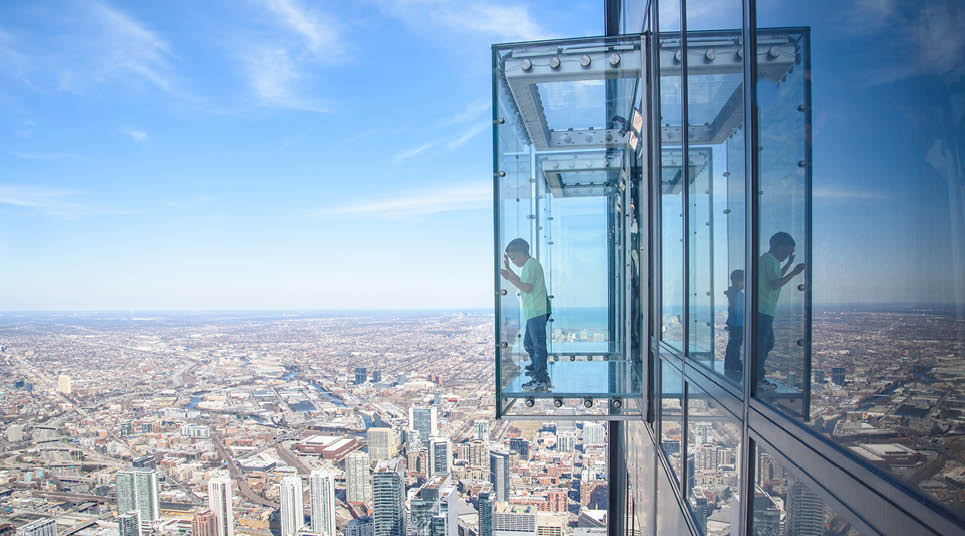 The Ledge. na Willis Tower