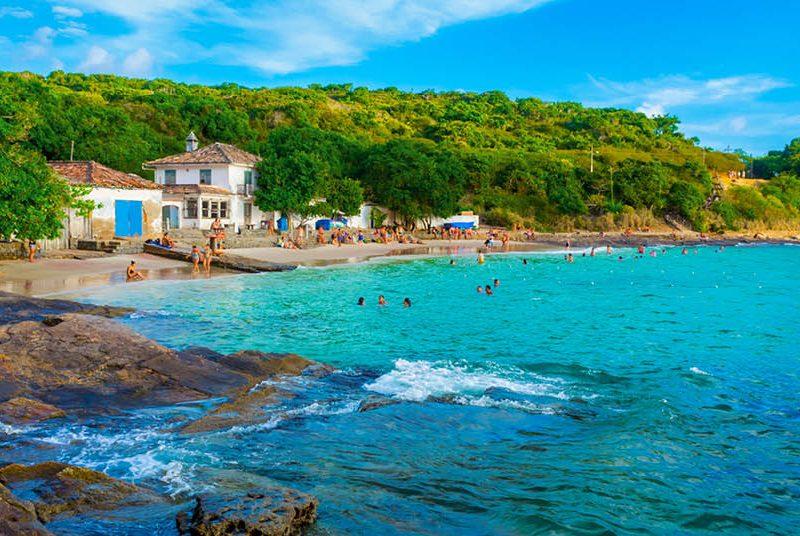 Praia Azeda, em Búzios
