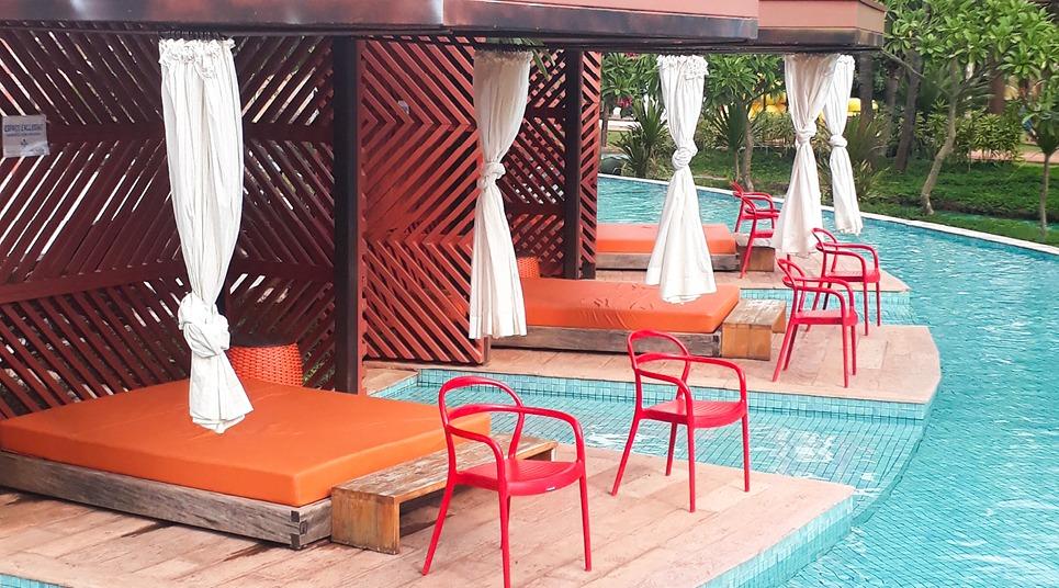 Cabanas do Hot Beach Resort