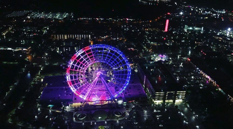 Sobrevoo de helicóptero em Orlando