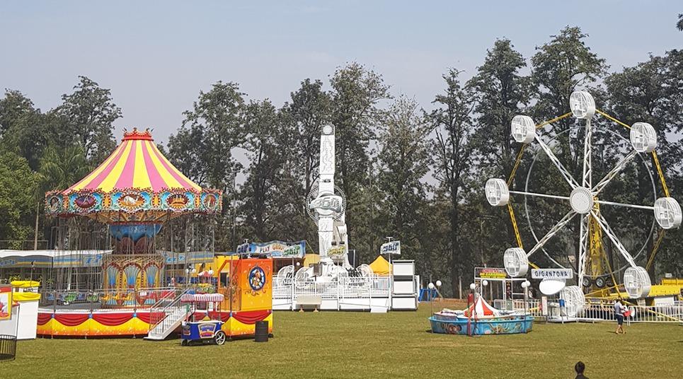 Parque de diversões da Expoflora