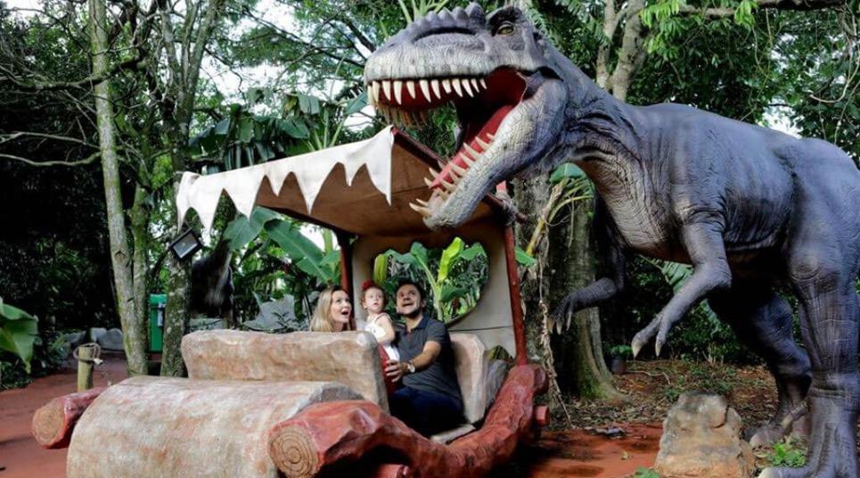 Vale dos Dinossauros, em Olímpia